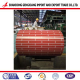 El mármol/Flower/madera/ladrillo revestido de Color de trama de la bobina de acero galvanizado PPGI/PPGL