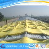 El sonido y la resistencia térmica manta de lana de vidrio para la parte superior del techo