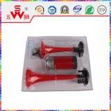 De rode Bidirectionele Elektrische Hoorn van de Lucht
