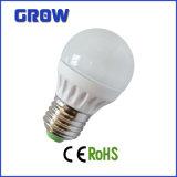 세륨 RoHS (GR855-G45)를 가진 3W/4W/5W/6W E14/E27 LED Globe Bulb