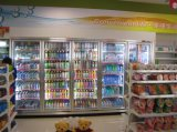 Ijskast van de Vertoning van de Supermarkt van het KoelSysteem van de ventilator de Ce Vermelde