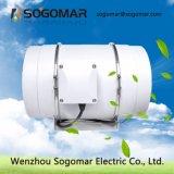 Baixo ruído de ventoinha do duto do ventilador do extrator 200mm