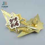 La policía militar del Pin del esmalte del recuerdo de encargo de la insignia Badge en artes del metal