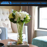 Vaso di fiore di vetro della cristalleria decorativa per il festival, la cerimonia nuziale ed il natale