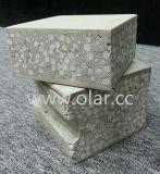 Painel de parede do EPS do cimento da fibra