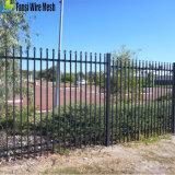 アルミニウムプールの塀のパネル2.4m -平屋建家屋の黒1200X2400の庭の囲うこと