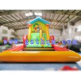 商業使用された膨脹可能な水プールのスライド子供膨脹可能な水