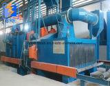 Secciones de perfil tipo H la hoja de acero montón Granallado máquina
