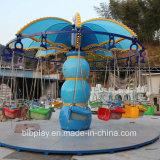 Kind-im Freienfliegen-Stuhl-Vergnügungspark-Gerät