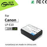 De nieuwe Decoderende Digitale Batterij van de Camera voor de Navulbare Batterij van het Lithium van de Canon lp-E10