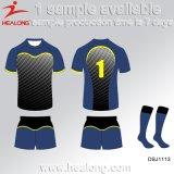 Rugby Jersey de sublimation personnalisé les plus défunts par vêtements de sport de modèle de Healong