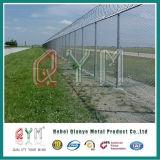 高い安全性空港塀かみそりの有刺鉄線の塀