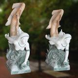 Statua a grandezza naturale della sirena di Ornamet con il Figurine della sirena