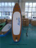 Scheda di pala molle del surf di colore di legno