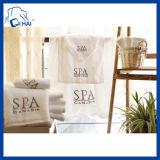 100% coton broderie SPA serviette blanche