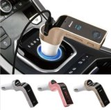 Multifunción Bluetooth Car Kit USB Cargador Reproductor de Música FM Transmisor
