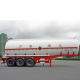 45000 liter Tankwagen van de tri-As van de Chemische Vloeibare