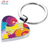 판매를 위한 주문을 받아서 만들어진 색깔 아연 합금 Keychain