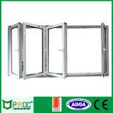 De goedkope bi-Vouwende Vensters van het Aluminium van de Prijs met Glas Pnoc0001bfw