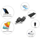 2018 Nova chegada Micro USB USB 2.0 macho para fêmea USB OTG Adaptador para Adroid Host / Samsung S7, S6, S4, S3 I9100 I9300 Nota 2. / O Google Nexus HTC LG Sony