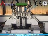 4개의 스핀들 목제 CNC 대패 드릴링 기계 1325년
