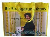 Saco tecido PP europeu da laminação da bolsa BOPP do estilo para a promoção