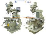 CNC X3h Universal metal fresado vertical aburrido de la torreta y máquina de perforación para la herramienta de corte