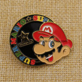 Insigne superbe fait sur commande d'émail de Mario avec le guindineau Cluch