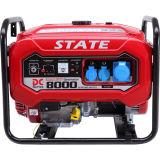 tipo gerador de 6kw Protable da gasolina com motor de Stong