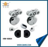 En acier inoxydable 304 porte coulissante en verre la pendaison de roue (HW-6004)