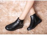 숙녀를 위한 좋은 온난한 가죽 신발