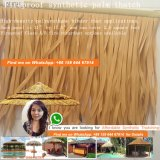 Толь ладони пожаробезопасного искусственного Thatch Thatch синтетического пластичный Thatched хата Мальдивов Tiki дома