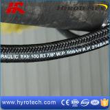 Mangueira hidráulica SAE 100R5 com capa trançada de fibra