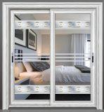健全な証拠によって二重ガラスをはめられるアルミニウム引き戸の製造