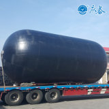 A Evergreen Marine inflável para-lama de borracha para a operação de acoplamento