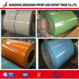 SGCC prépeint en acier revêtu de couleur des feuilles d'PPGI Bobines en acier