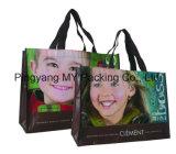 Tejido diversas BOPP laminado Nonwoven de impresión disponible Bolso Shopper