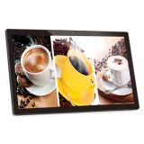Muur Opgezette 18.5inch Androïde 6.0, de Adverterende Speler van de Advertentie van de Aanraking met de Kern van de Vierling cpu 2.0g, LEIDENE Vertoning, Media Player, allen in Één PC, Digitale Signage, PC van de Tablet