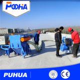 Machine de nettoyage par soufflage mobile à surface de béton