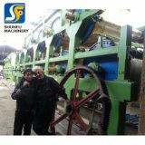Gran capacidad de Fourdrinier automático de 100 toneladas de cartón ondulado de equipos de producción de papel Kraft