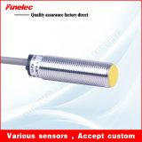 Série encaixada Lja18 de sensor de proximidade indutivo cilíndrico