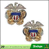 Distintivo militare di Pin dell'aquila americana calda di vendita