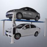 Автоматическая парковка автомобиля четыре должности Автомобильный подъемник