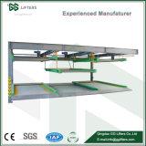 Multi Nivel Lift-Sliding Puzzle automatizada del sistema de estacionamiento de autos