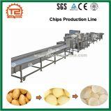 De automatische Verse Frieten die van Chips de Lopende band van /Chips van de Machine Maken