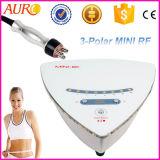 Мини-Tripolar радиочастотного кожу и жир для снятия лака