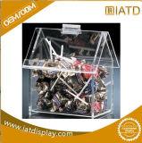 Hangend de Duidelijke Plastic AcrylDoos van de Vertoning voor Vogel/Huisdier/Voedsel voor huisdieren/Suikergoed