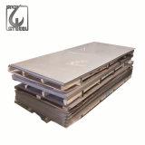 Feuille d'acier inoxydable de bord de Sliting de pelliculage de PVC du numéro 4 de Tisco 316
