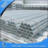 Il programma 40 di alta qualità ASTM A53 ha galvanizzato il tubo d'acciaio