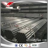 tubi d'acciaio galvanizzati tuffati caldi del materiale da costruzione dell'armatura di 48.3mm
